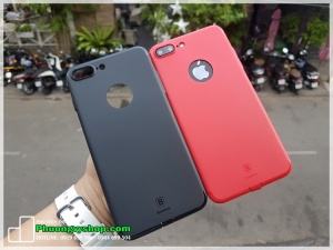 Ốp dẻo mỏng Baseus Simple Solid Color Iphone 7 Plus
